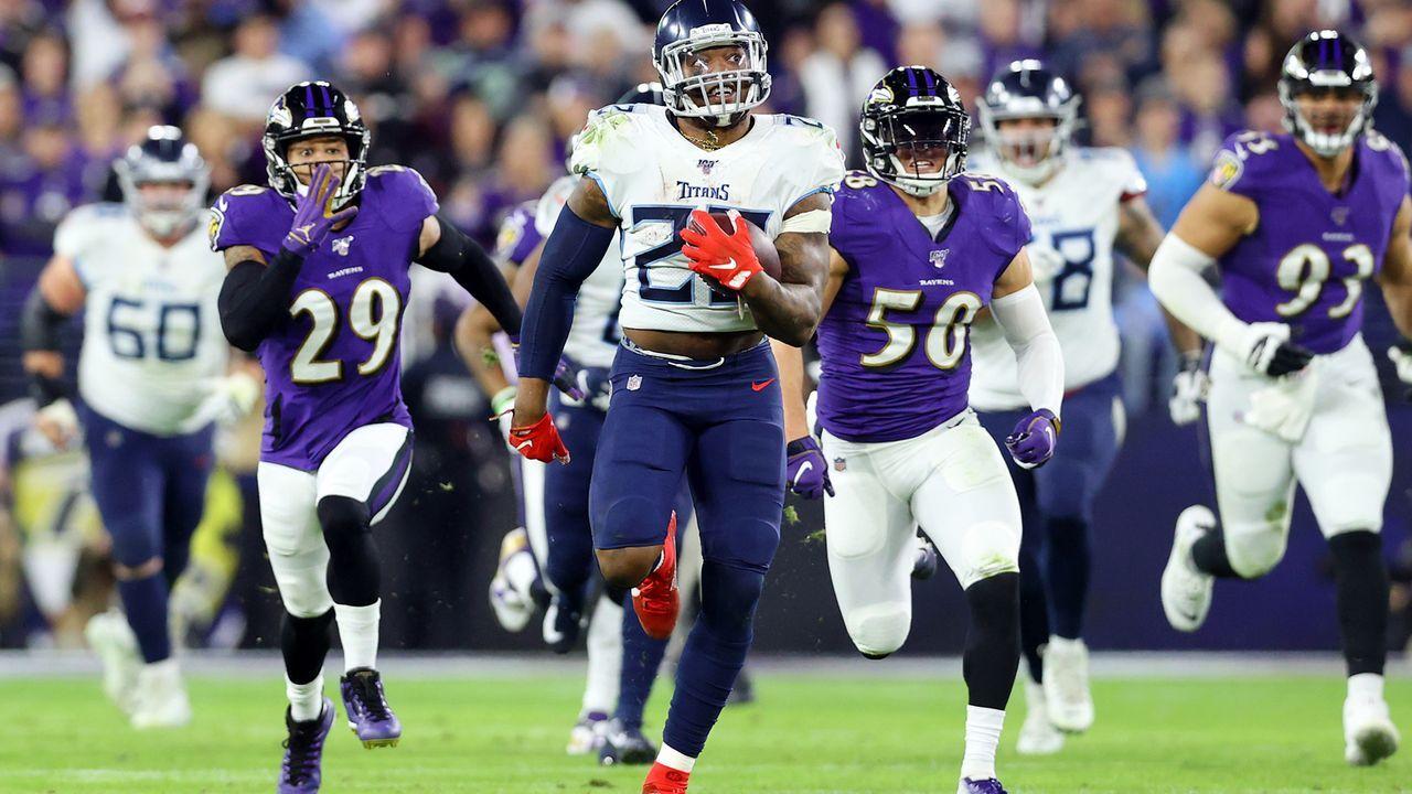 11. Januar 2020: Tennessee Titans at Baltimore Ravens (Divisional Round) - Bildquelle: 2020 Getty Images