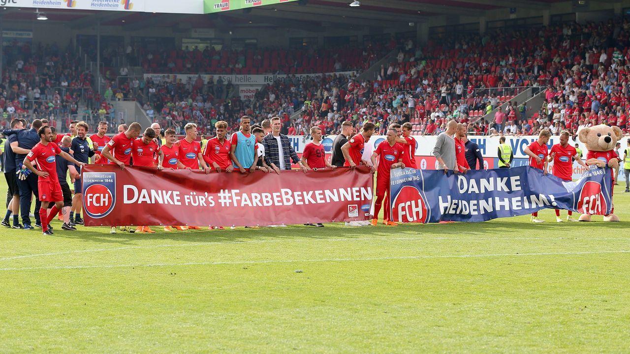 1. FC Heidenheim - Bildquelle: imago/Eibner