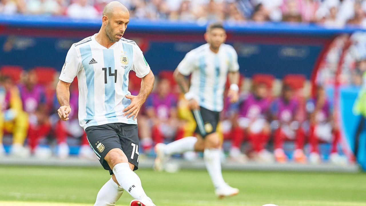Argentinien: Javier Mascherano - Bildquelle: imago/ActionPictures