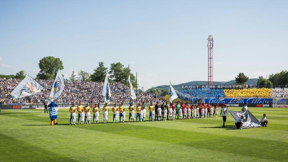 Carl Zeiss Jena: Das Ernst-Abbe-Sportfeld wird umgebaut - Bildquelle: PIXATHLONPIXATHLONSID