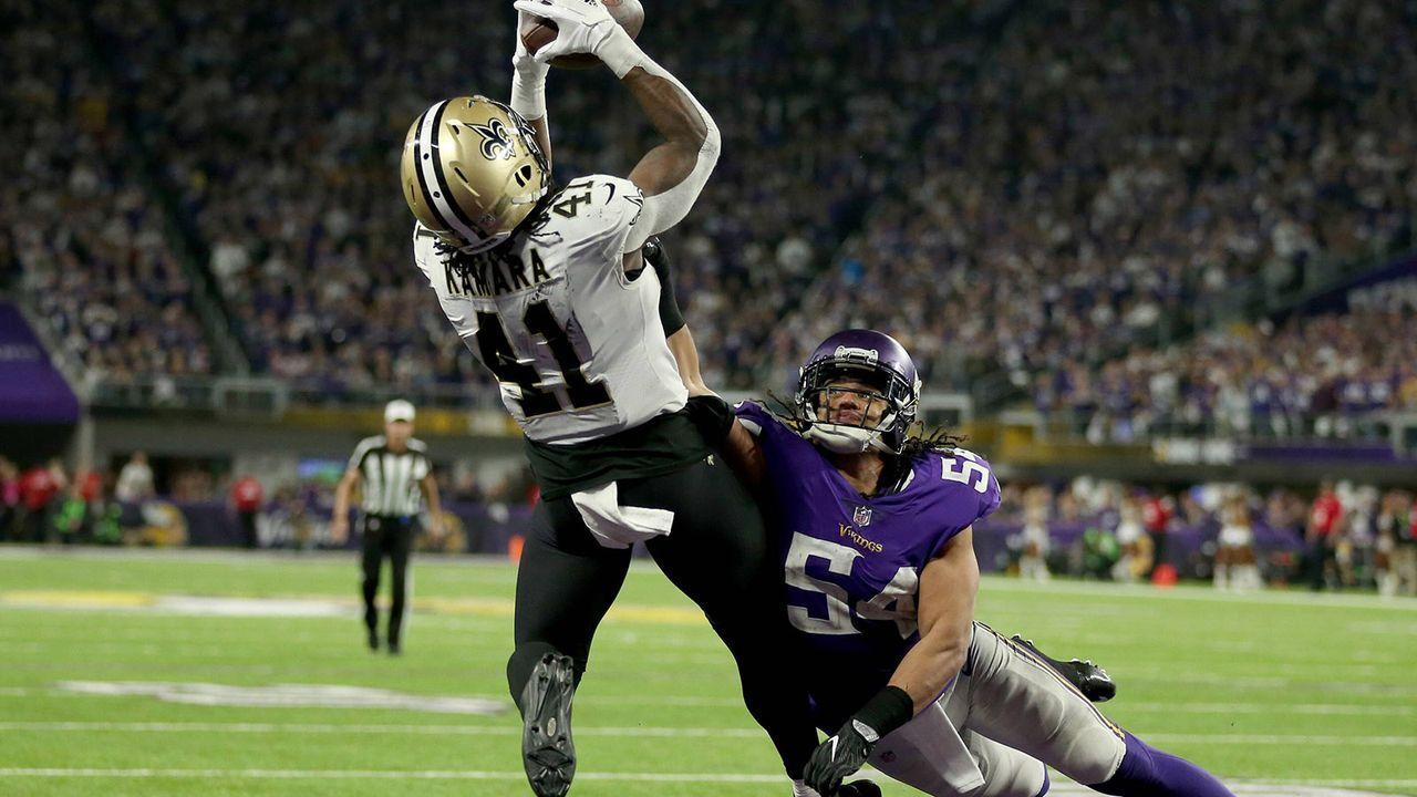 Alvin Kamara (Running Back, New Orleans Saints) - Bildquelle: imago/ZUMA Press