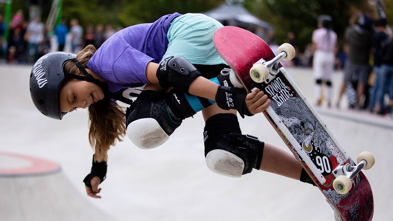 Lilly Stoephasius (Skateboard) - Bildquelle: Imago Images