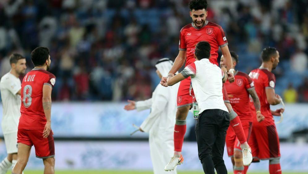 Die Arena wurde beim katarischen Pokalfinale eingeweiht - Bildquelle: AFPSIDKARIM JAAFAR