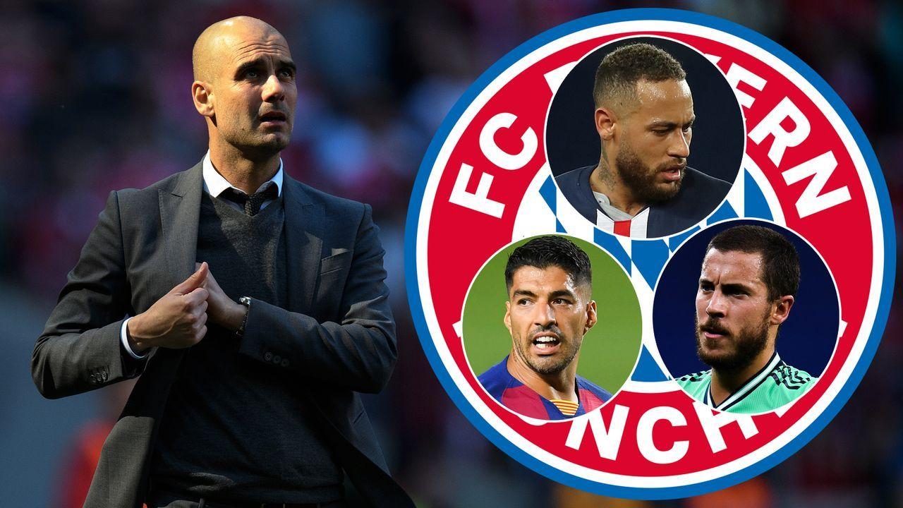 FC Bayern: Buch enthüllt - Guardiola bekam diese sieben Wunschspieler nicht - Bildquelle: 2016 Getty Images