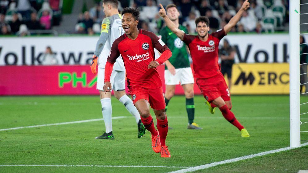 Jonathan de Guzman erzielte das zwischenzeitliche 1:0 für Eintracht Frankfur... - Bildquelle: imago images / Eibner