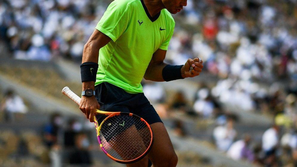 Rafael Nadal ist im Halbfinale der French Open - Bildquelle: AFPSIDCHRISTOPHE ARCHAMBAULT