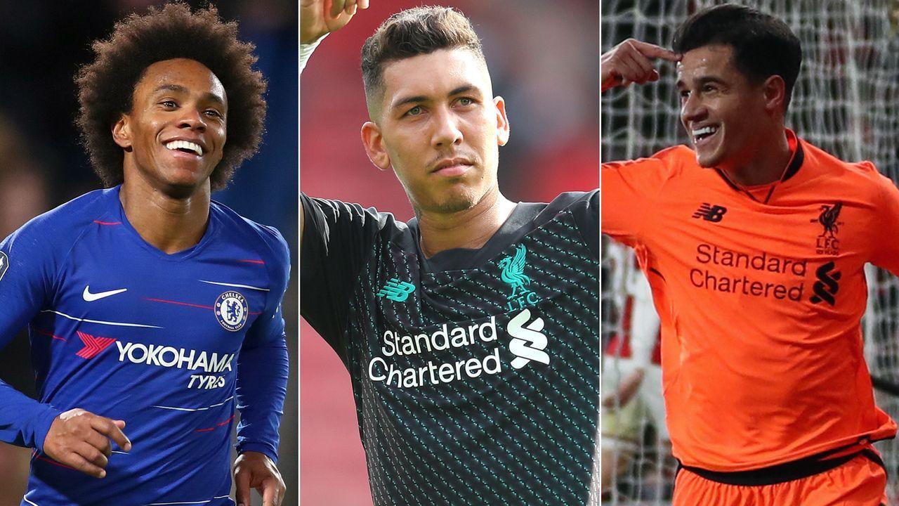 Top 5: Die Brasilianer mit den meisten Premier-League-Treffern - Bildquelle: Getty Images