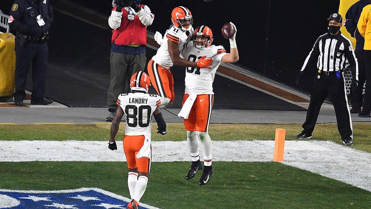 Wild Card Round: Browns mit historischem ersten Viertel - Bildquelle: Getty Images