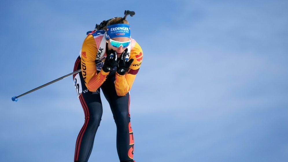Vanessa Hinz beim Heim-Weltcup Achte - Bildquelle: AFPAFPGEORG HOCHMUTH