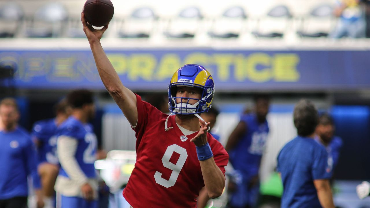 Platz 6: Matthew Stafford (Los Angeles Rams) - Bildquelle: imago images/Icon SMI