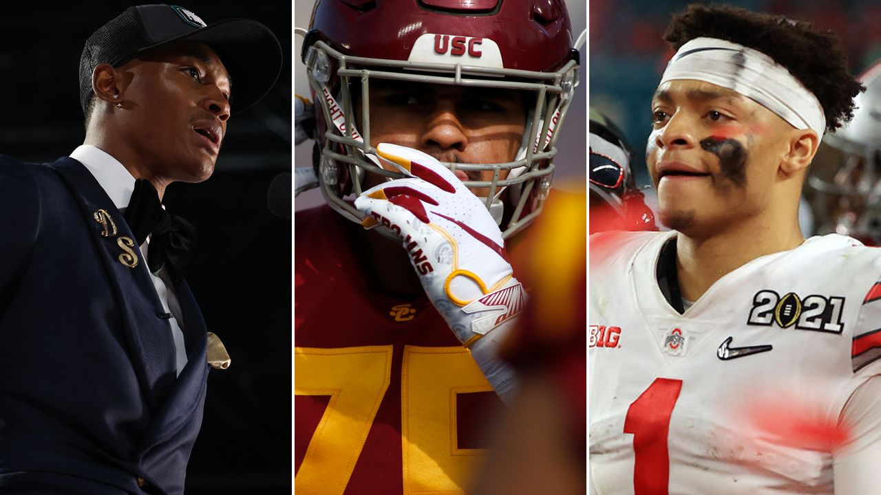 Fields & Co.: Trade-Alarm beim NFL Draft 2021 - Bildquelle: getty images