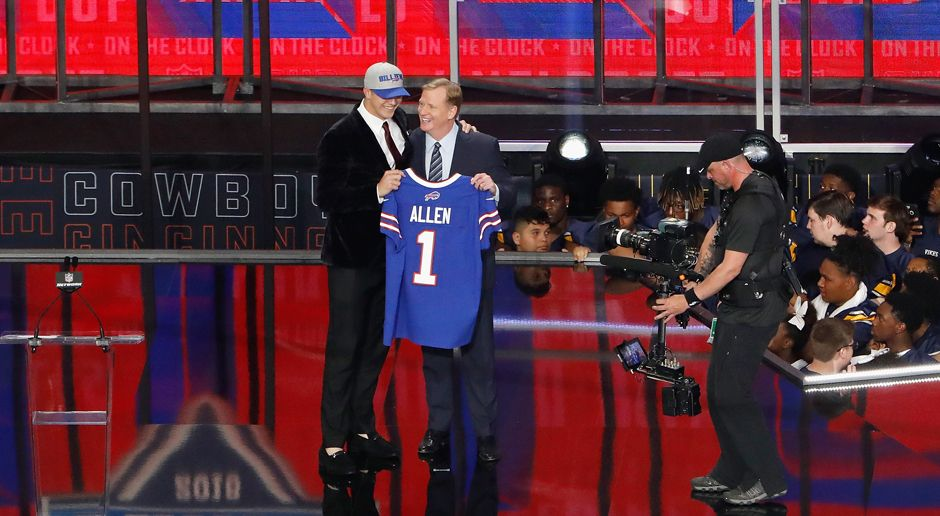 7. Pick - Buffalo Bills: QB Josh Allen - Bildquelle: getty