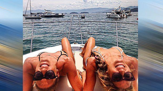 Bia und Branca Feres (Synchronschwimmen/Brasilien) - Bildquelle: Instagram/@biaebranacferes