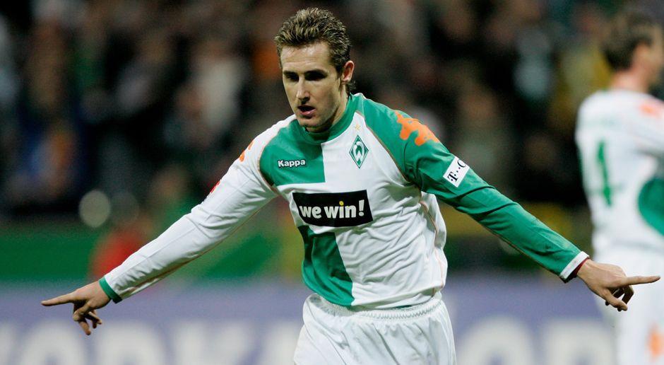 2004 - Miroslav Klose zu Werder Bremen (5 Mio.) - Bildquelle: 2006 Getty Images