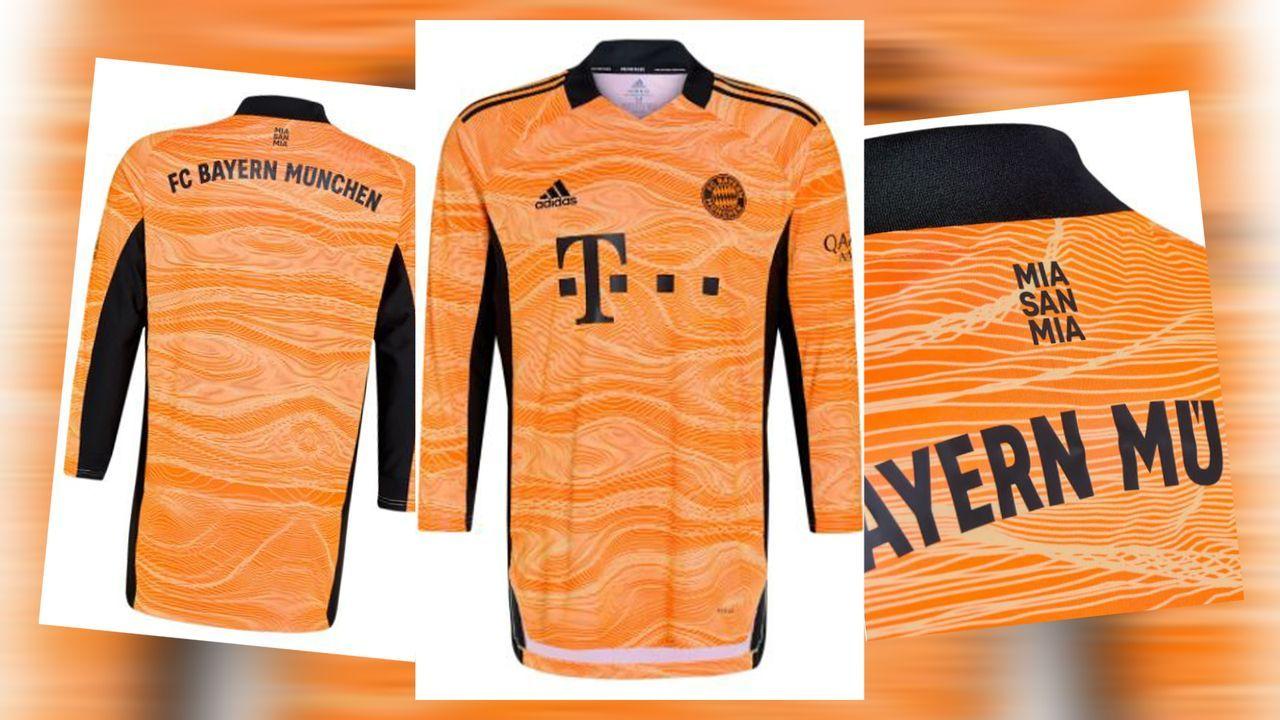FC Bayern: Neues Torwarttrikot mit Hypnose-Faktor - Bildquelle: FC Bayern München