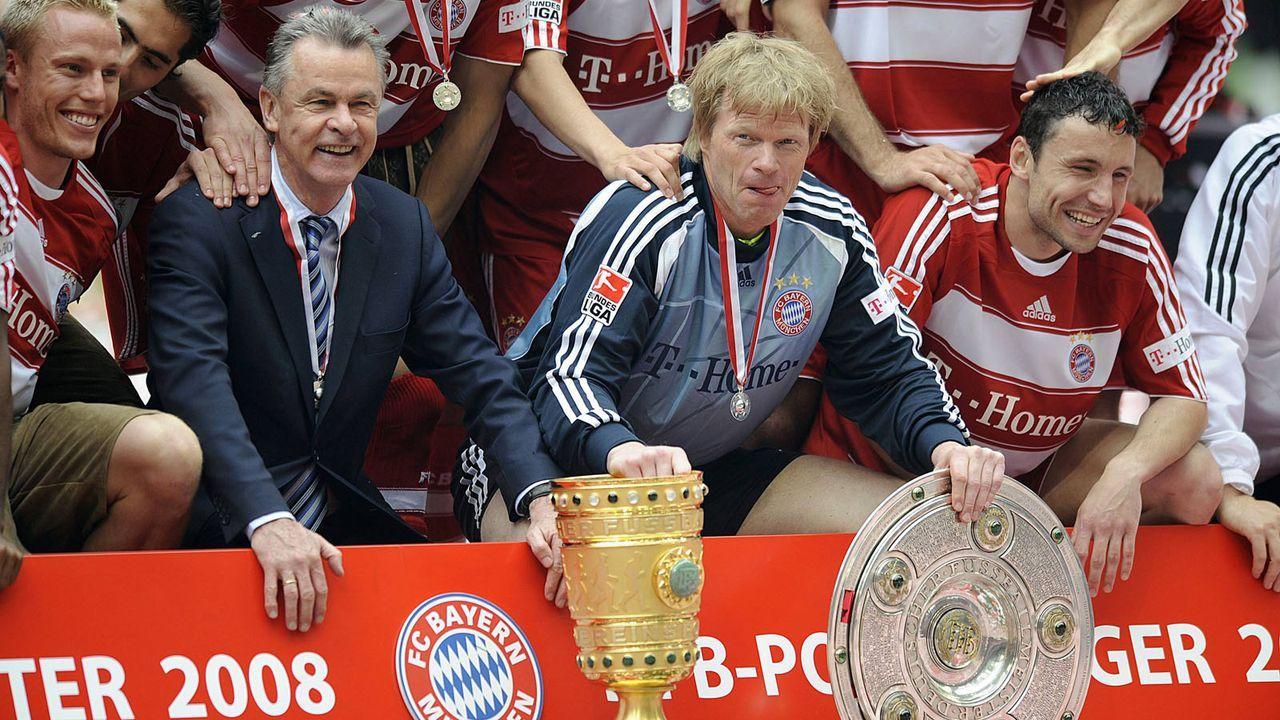 Erfolgsduo Kahn/Hitzfeld - Bildquelle: imago sportfotodienst