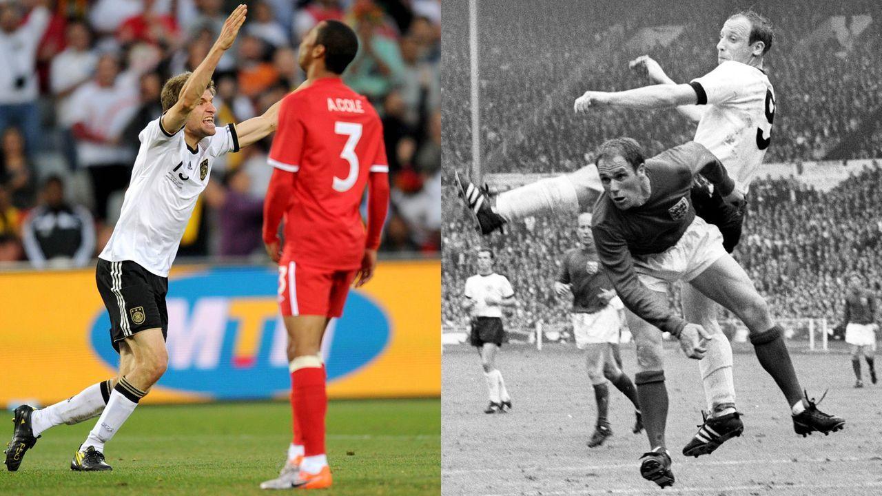Deutschland gegen England: Die heißesten Duelle des Klassikers  - Bildquelle: imago