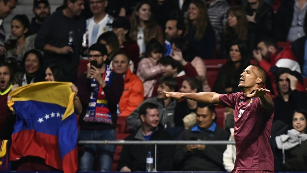 Salomon Rondon erzielte zwei Treffer gegen die USA - Bildquelle: AFPSIDPIERRE-PHILIPPE MARCOU