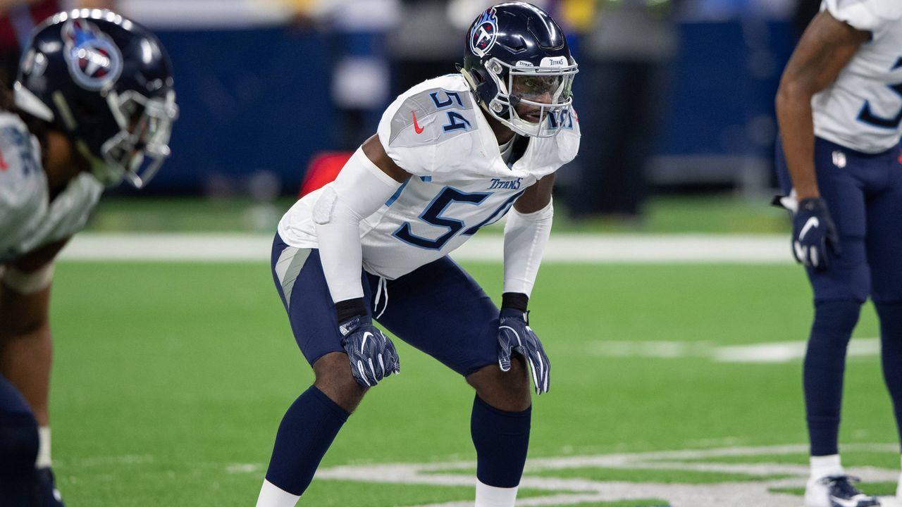 Pick 22: Rashaan Evans (Linebacker, Tennessee Titans) - Bildquelle: imago/Icon SMI