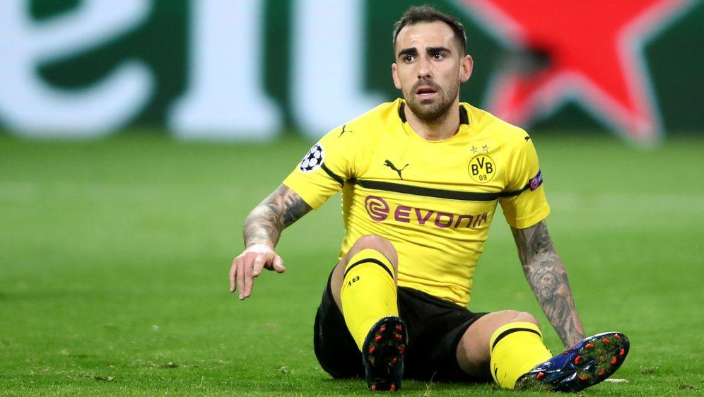 Kann im Bundesliga-Gipfel nicht mitwirken: Paco Alcacer - Bildquelle: Getty