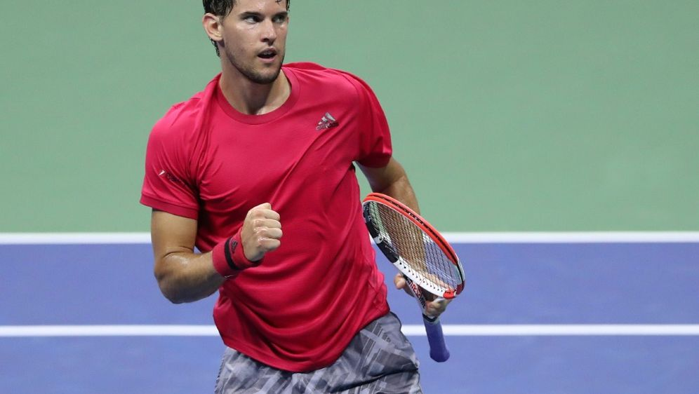 Dominic Thiem steht erstmals im Halbfinale der US Open. - Bildquelle: AFPGETTYSIDMATTHEW STOCKMAN