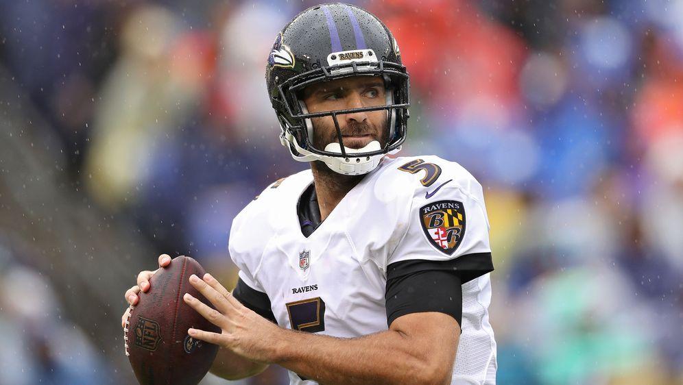 Quarterback Joe Flacco hat über die Saison hinaus wohl keine Zukunft bei den... - Bildquelle: Getty Images