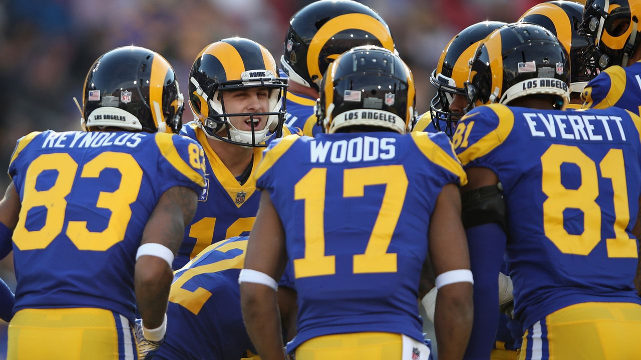 Los Angeles Rams - Bildquelle: 2018 Getty Images
