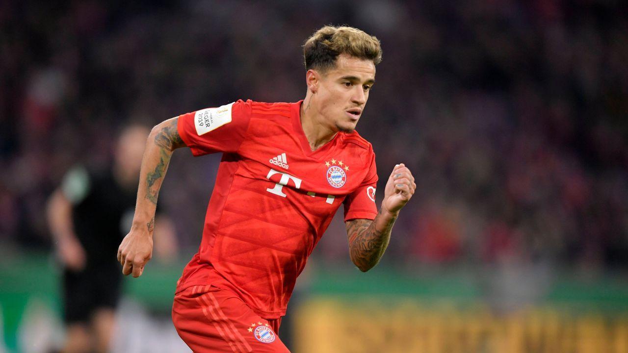 Philippe Coutinho (FC Bayern) - Bildquelle: imago