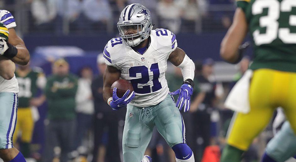 Platz 2: Ezekiel Elliott - Running Back (Dallas Cowboys) - Bildquelle: 2017 Getty Images