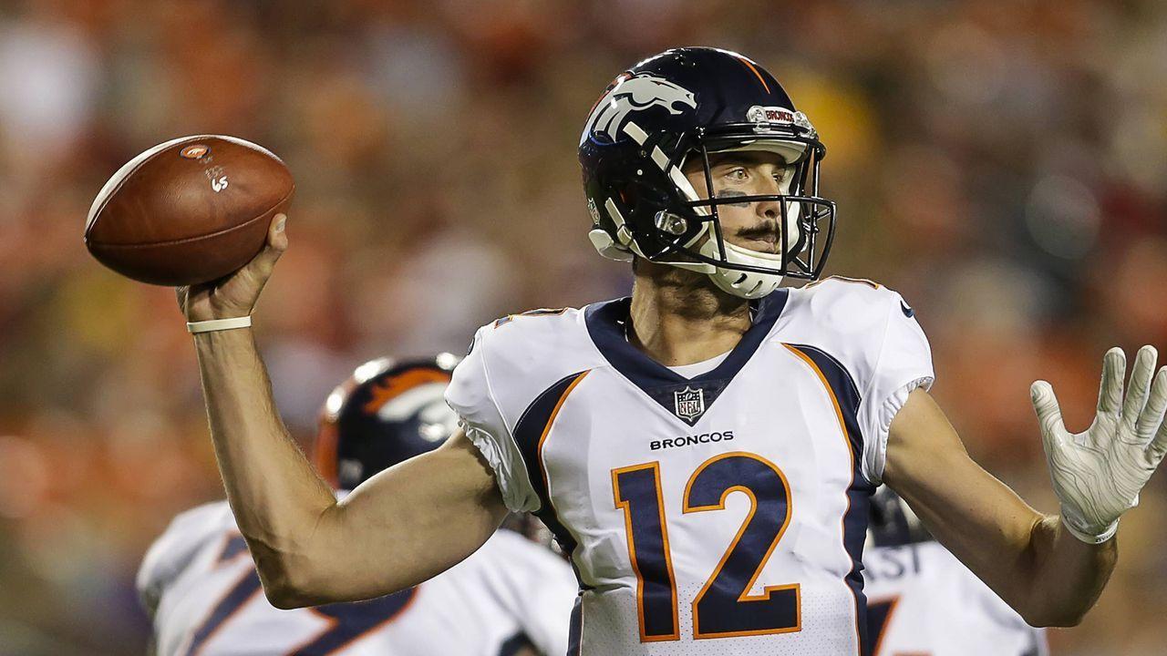 Paxton Lynch (Denver Broncos, 2016 an 26. Stelle) - Bildquelle: imago/ZUMA Press
