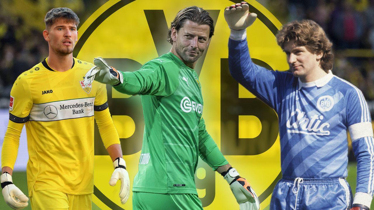 Kobels Erbe: So prägten seine Vorgänger bei Borussia Dortmund eine Ära - Bildquelle: Imago Images