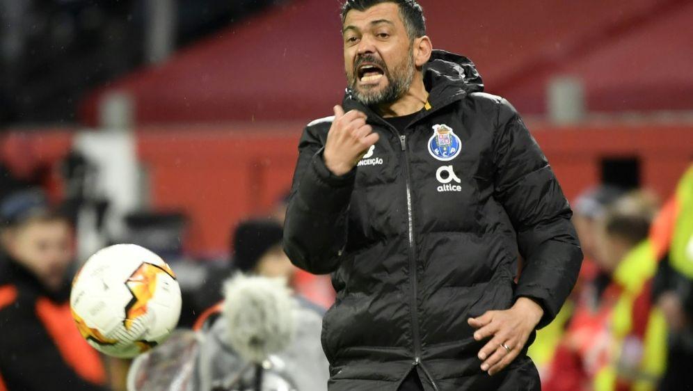 Trainer Sergio Conceicao schwärmt von der Bundesliga - Bildquelle: AFPSIDINA FASSBENDER