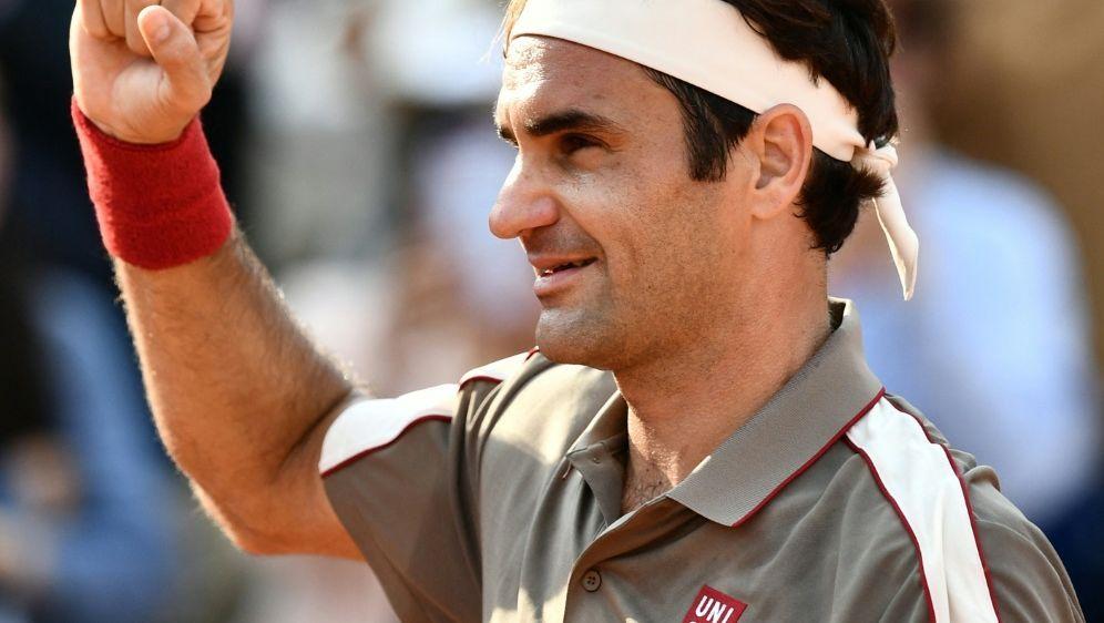 Roger Federer nimmt an French Open teil - Bildquelle: AFPSIDPHILIPPE LOPEZ