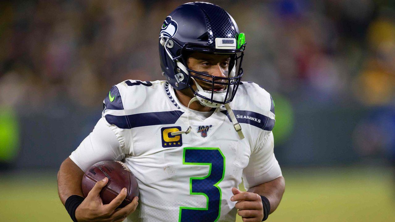 Platz 2: Russell Wilson - Seattle Seahawks - Bildquelle: imago