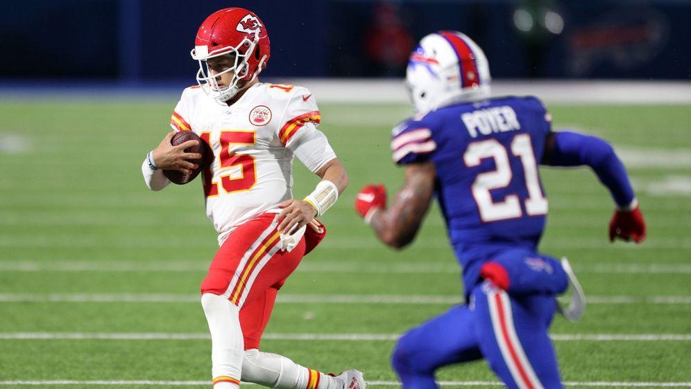 Patrick Mahomes landete dank den Bills bei den Kansas City Chiefs. - Bildquelle: 2020 Getty Images