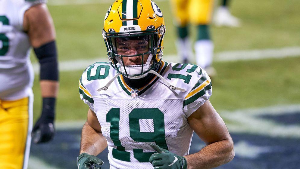 Die Green Bay Packers holen EQ St. Brown zurück in den Kader. - Bildquelle: imago images/Icon SMI