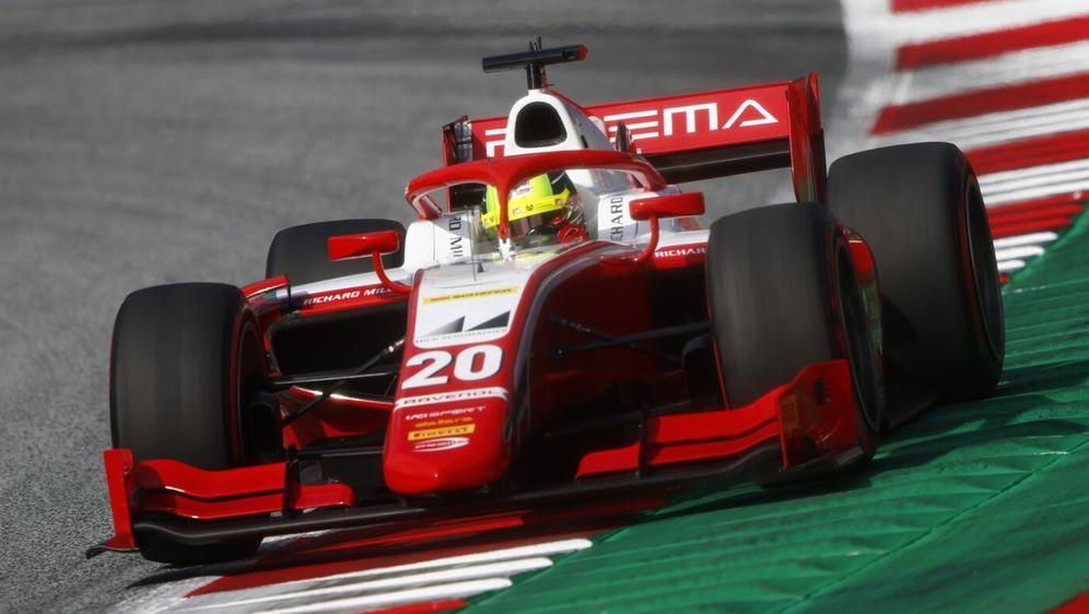 Mick Schumacher verpasste in Spielberg das Podium. - Bildquelle: Motorsport Images