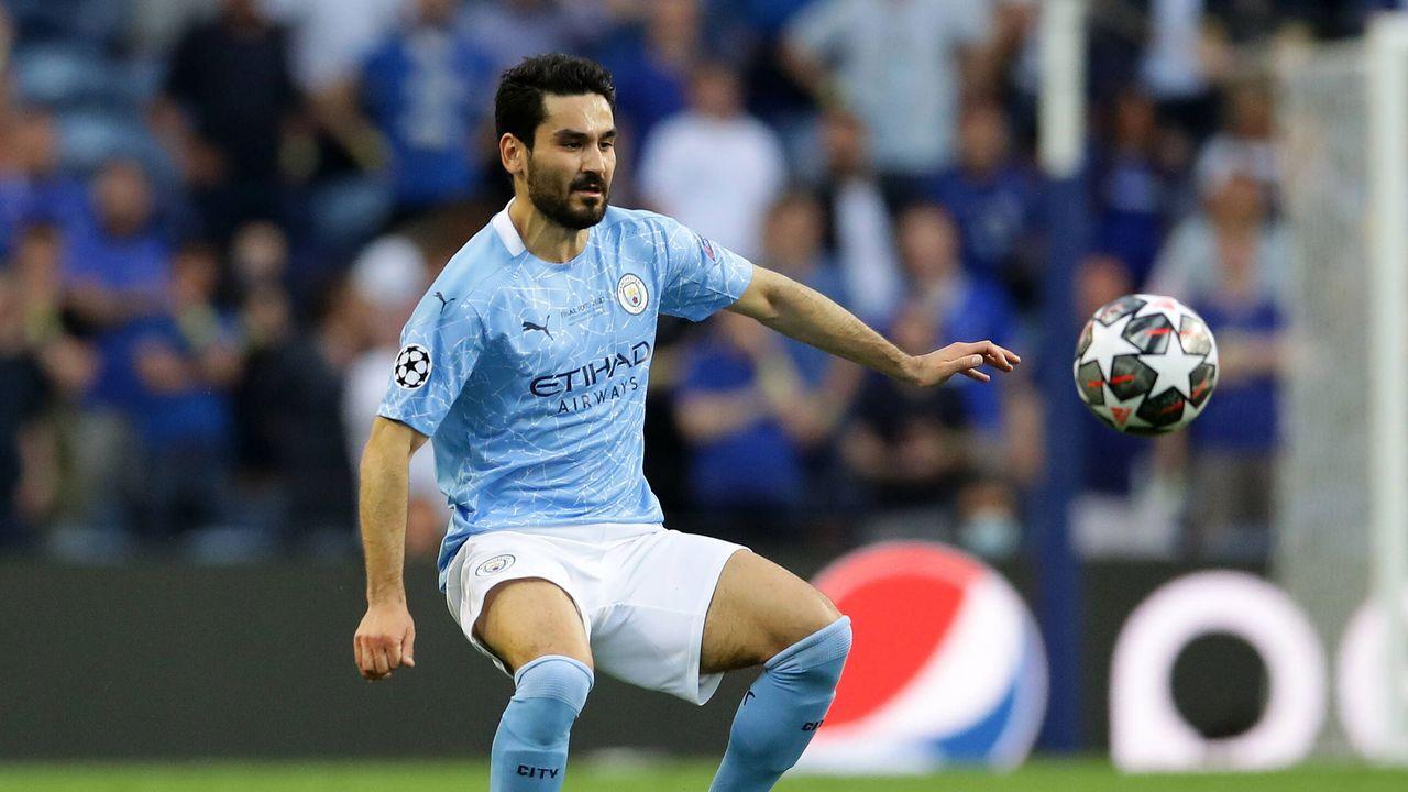 Platz 8: Ilkay Gündogan (Manchester City) - Bildquelle: imago images/Sportimage