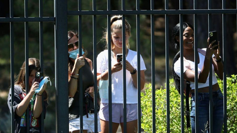 Zuschauer müssen bei der PGA-Tour draußen bleiben - Bildquelle: AFPGETTYSIDChristian Petersen