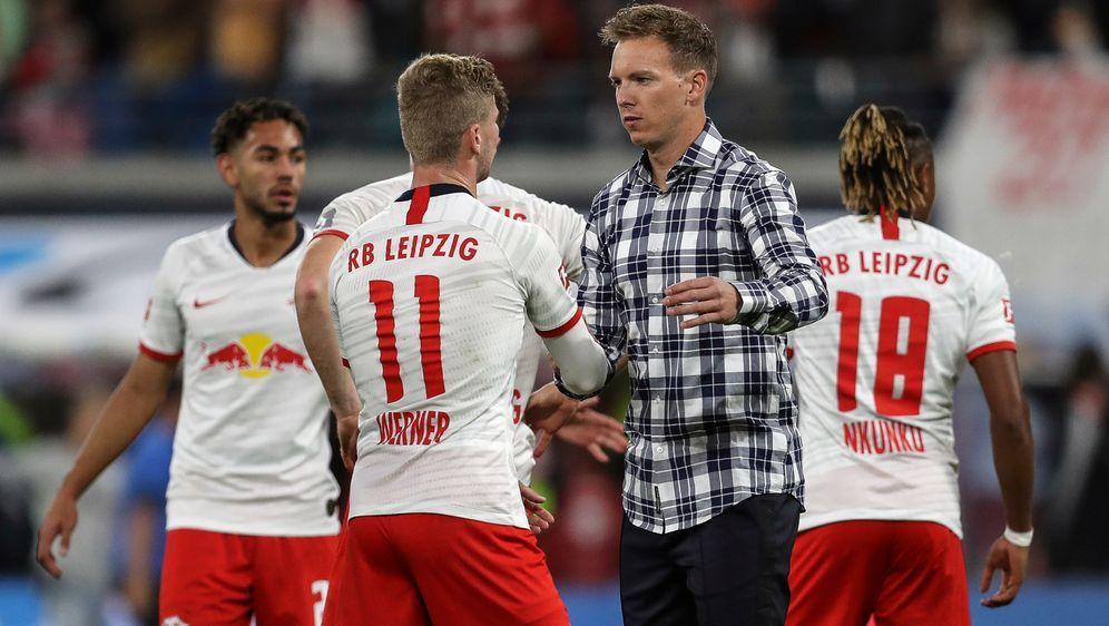 Julian Nagelsmann hat als Leipziger Trainer einen Schnitt von 2,17 Punkten b... - Bildquelle: 2019 Getty Images