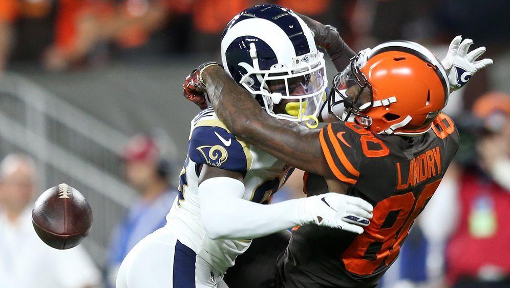 Die Los angeles Rams konnten auch in Ohio, bei den Cleveland Browns, ihre Si... - Bildquelle: imago images/UPI Photo