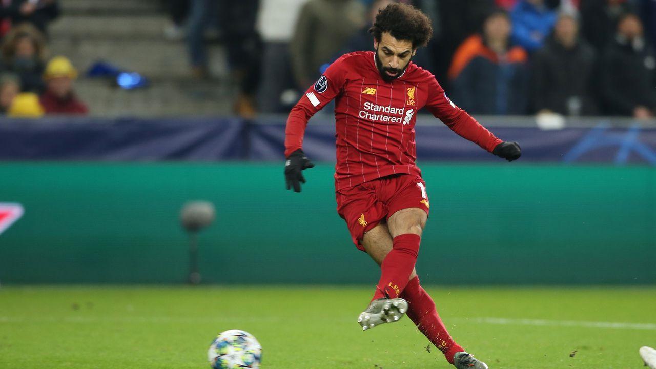 Platz 1: FC Liverpool (gegen Atletico Madrid) - Bildquelle: imago images/GEPA pictures