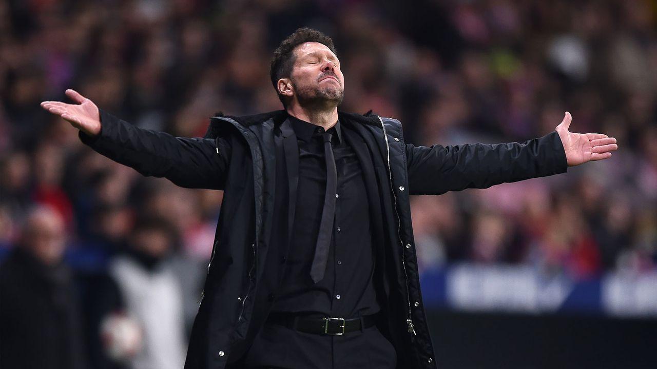 Trainer Simeone: Klare Philosophie und eingespielte Truppe - Bildquelle: 2019 Getty Images