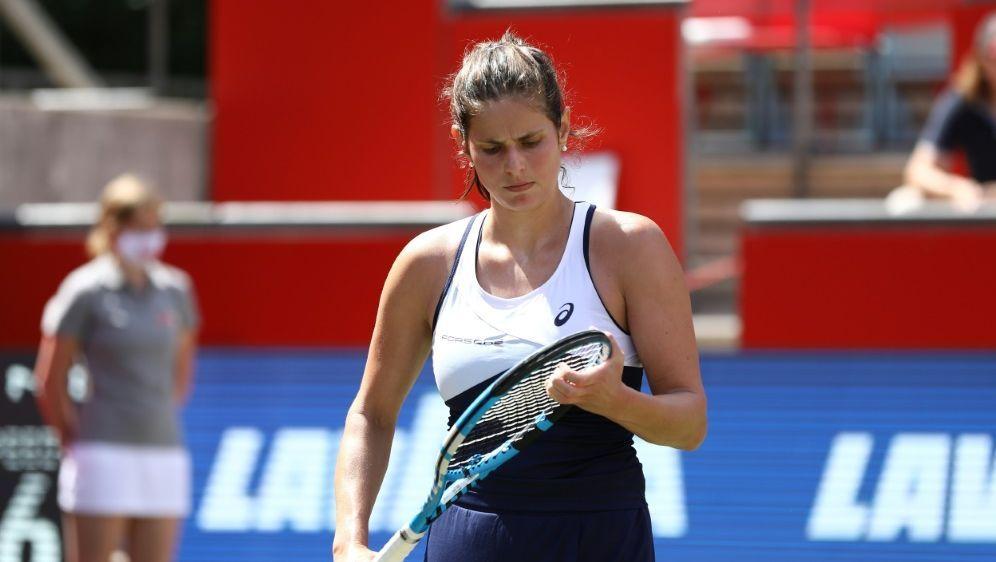 Deutliche Niederlage für Julia Görges in Rom - Bildquelle: AFPSIDMICHAEL HUNDT