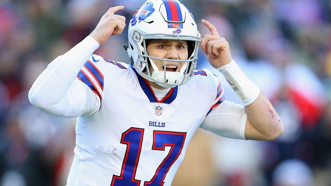 Josh Allen (7. Pick, Buffalo Bills)  - Bildquelle: Getty
