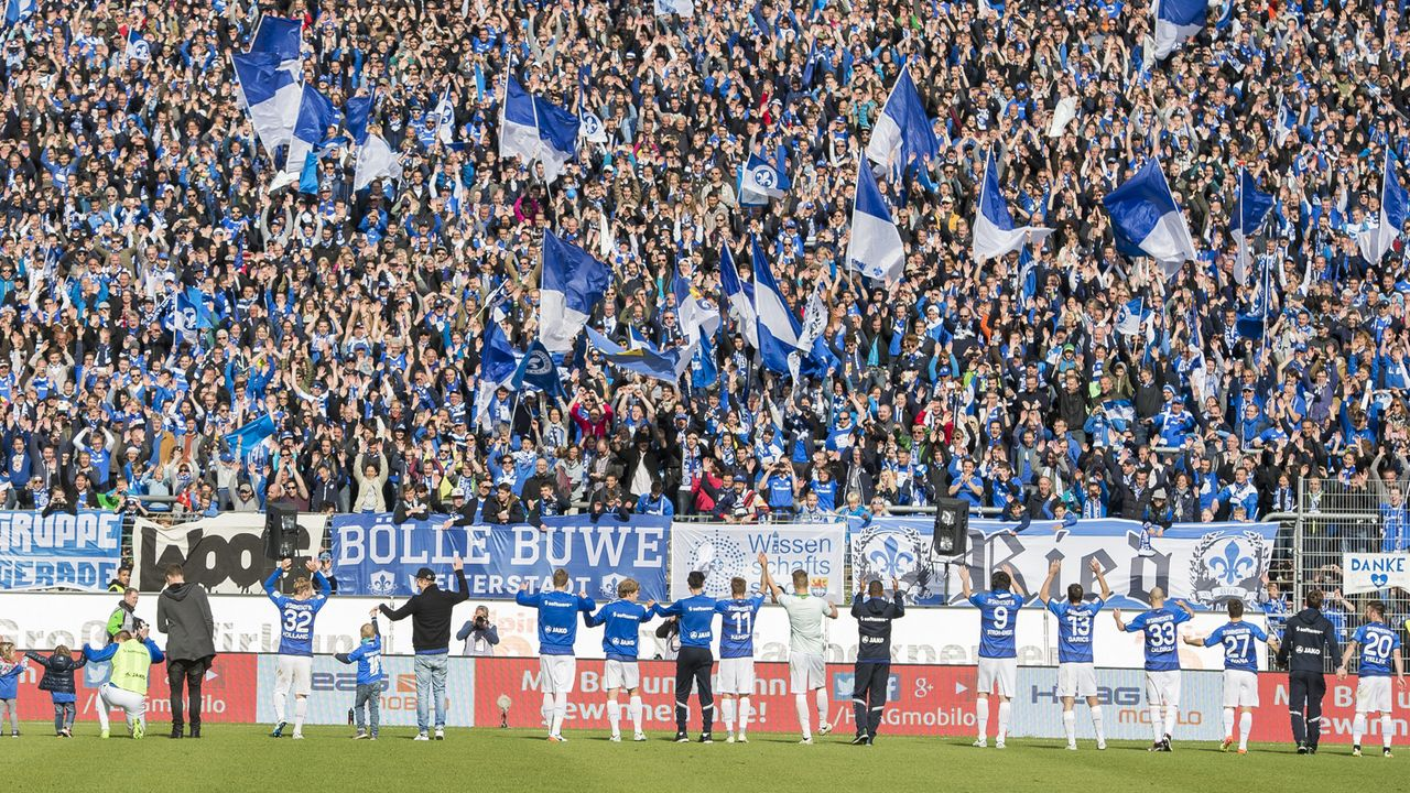 SV Darmstadt 98 - 22. Mai 1898 - Bildquelle: Getty Images