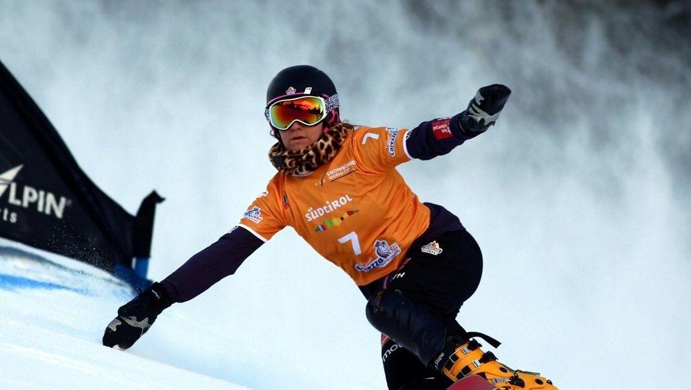 Ramona Hofmeister gewinnt Parallel-Slalom - Bildquelle: PIXATHLONPIXATHLONSID