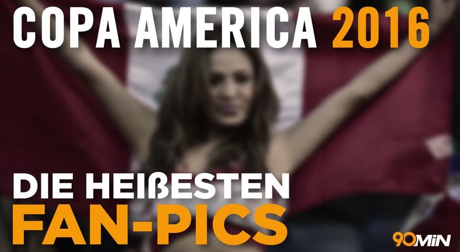 Heiße Fans So Sexy Ist Die Copa America