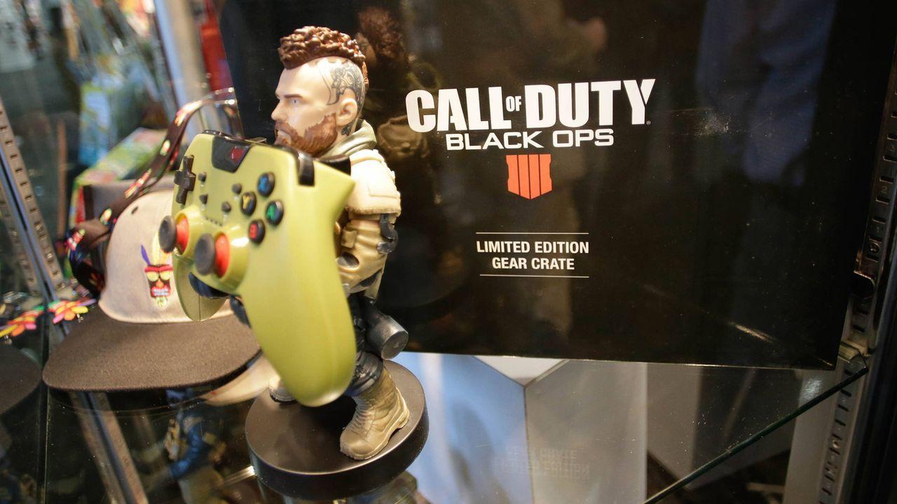 Platz 23: Call of Duty Black Ops 3 - Bildquelle: imago/UPI Photo