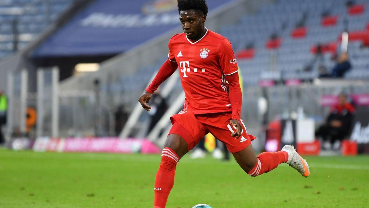 3. Alphonso Davies (Bayern München) - 226 Punkte - Bildquelle: Getty Images